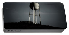 Portable Battery Charger featuring the photograph Lopsided Tower by Jessica Shelton