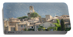 Portable Battery Charger featuring the photograph Lourmarin In Provence by Carla Parris