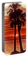Loving Palms-the Journey Portable Battery Charger by Janie Johnson