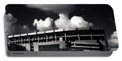 Lsu Tiger Stadium Black And White Portable Battery Charger