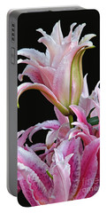 Luscious Lilies Portable Battery Charger