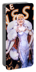 Mae West: Poster Portable Battery Charger