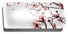 Magnolia - Monochrome Portable Battery Charger