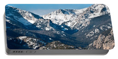 Majestic Rockies Portable Battery Charger by Colleen Coccia