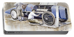 Malcolm Campbell Sunbeam Bluebird 1924 Portable Battery Charger