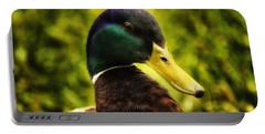 Male Mallard Duck Portable Battery Charger