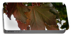 Portable Battery Charger featuring the photograph Maple 2 by Tikvah's Hope