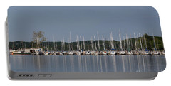Portable Battery Charger featuring the photograph Marina by Todd Blanchard