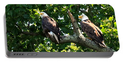Portable Battery Charger featuring the photograph Mating Pair by Randall Branham