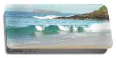Maui Hawaii Beach Portable Battery Charger by Rebecca Margraf