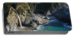 Portable Battery Charger featuring the photograph Mcway Falls by Lynn Bauer
