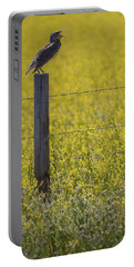 Meadowlark Singing Portable Battery Charger