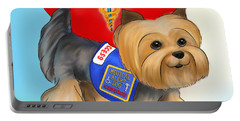 Medical Alert Yorkie Portable Battery Charger