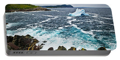 Melting Iceberg In Newfoundland Portable Battery Charger