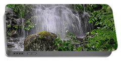 Mendenhall Glacier Flooding Waterfall Juneau Alaska 1542 Portable Battery Charger