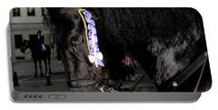 Portable Battery Charger featuring the photograph Menorca Horse 2 by Pedro Cardona