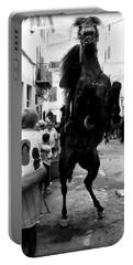 Portable Battery Charger featuring the photograph Menorca Horse 3 by Pedro Cardona