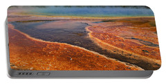 Middle Hot Springs Yellowstone Portable Battery Charger