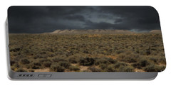 Midnight On The Pairie In Wyoming Portable Battery Charger