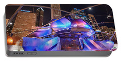 Portable Battery Charger featuring the photograph Millennium Park by Sebastian Musial