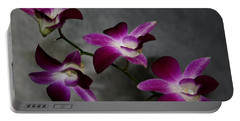 Miniature Orchids Portable Battery Charger