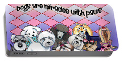 Miracles With Paws Portable Battery Charger