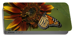 Monarch And The Bee Portable Battery Charger