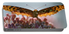 Portable Battery Charger featuring the photograph Monarch Butterfly by Heidi Poulin