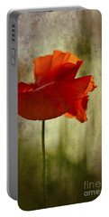 Moody Poppy. Portable Battery Charger