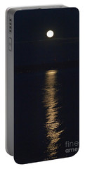 Moon Over Seneca Lake Portable Battery Charger
