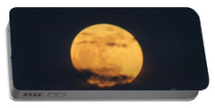 Portable Battery Charger featuring the photograph Moon by William Norton