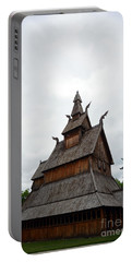 Moorhead Stave Church 26 Portable Battery Charger