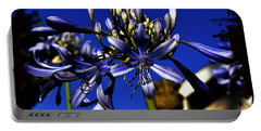 Portable Battery Charger featuring the photograph Morning Blooms by Clayton Bruster