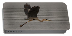 Morning Flight Portable Battery Charger by Eunice Gibb