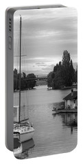 Houseboat Photographs Portable Battery Chargers