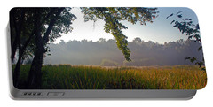 Morning On The River Portable Battery Charger by Kay Lovingood