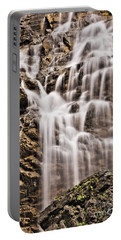 Portable Battery Charger featuring the photograph Morrell Falls 1 by Janie Johnson