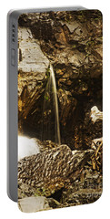 Portable Battery Charger featuring the photograph Morrell Falls 3 by Janie Johnson