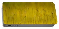 Moss In Yellow Portable Battery Charger