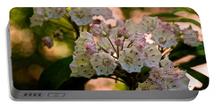 Mountain Laurel Flowers 2 Portable Battery Charger
