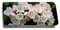 Mountain Laurel Flowers Portable Battery Charger