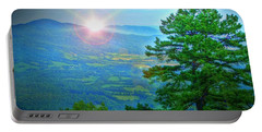 Mountain Sunrise Portable Battery Charger by Dan Stone