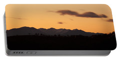 Mountain Sunset Portable Battery Charger