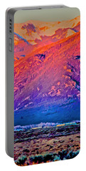 Mt Wheeler At Sunset Portable Battery Charger