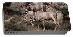 Mule Deer Bucks Portable Battery Charger