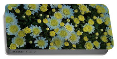 Portable Battery Charger featuring the photograph Mums by Joseph Yarbrough