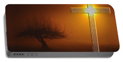 Portable Battery Charger featuring the photograph My Life In God's Hands 3 To 4 Ration by Clayton Bruster