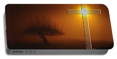 Portable Battery Charger featuring the photograph My Life In God's Hands by Clayton Bruster