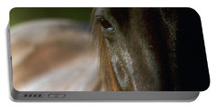 Portable Battery Charger featuring the photograph My Neigh-bor's Horse by Doug Herr