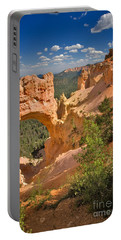 Natural Bridge In Bryce Canyon National Park Portable Battery Charger